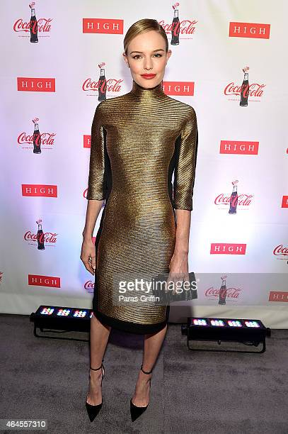 Actress Kate Bosworth attends The CocaCola Bottle An American Icon at 100 exhibition at the High Museum of Art on February 26 2015 in Atlanta Georgia