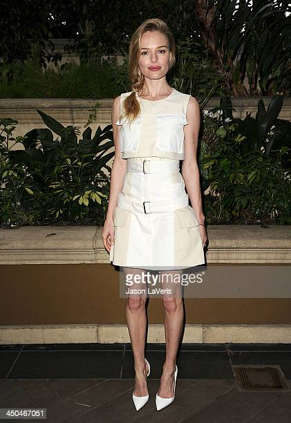 Actress Kate Bosworth attends the 'Homefront' press conference at Four Seasons Hotel Los Angeles at Beverly Hills on November 18 2013 in Beverly...