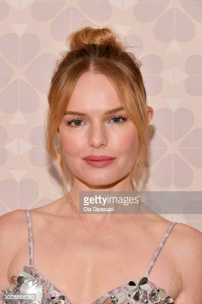 Actress Kate Bosworth attends the Kate Spade New York Fashion Show during New York Fashion Week at New York Public Library on September 7 2018 in New...