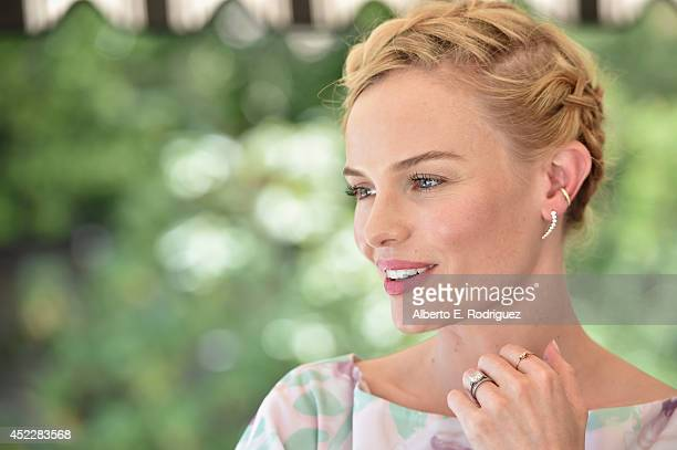 Actress Kate Bosworth attends the launch of Kate Bosworth & Samantha Russ' Style Thief Fashion App at Chateau Marmont on July 16, 2014 in Los...