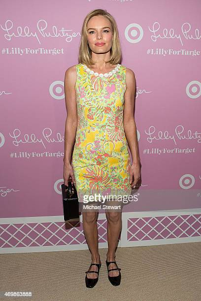 Actress Kate Bosworth attends the Lilly Pulitzer for Target Launch at Bryant Park Grill on April 15 2015 in New York City