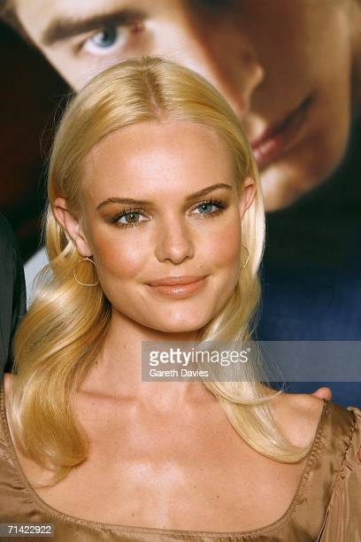 Actress Kate Bosworth attends the photocall of 'Superman Returns' held at the Dorchester Hotel on July 12 2006 in London England