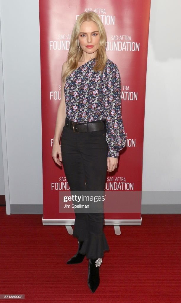 "SAG-AFTRA Foundation Conversations: ""The Long Road Home"" With Kate Bosworth"