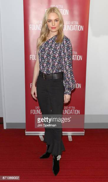Actress Kate Bosworth attends the SAGAFTRA Foundation Conversations 'The Long Road Home' at SAGAFTRA Foundation Robin Williams Center on November 7...