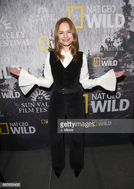 Actress Kate Bosworth attends the Salon Series during the 2018 Sun Valley Film Festival Day 3 on March 16 2018 in Sun Valley Idaho