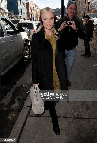 Actress Kate Bosworth attends The Samsung Galaxy Tab Lift on January 24 2011 in Park City Utah