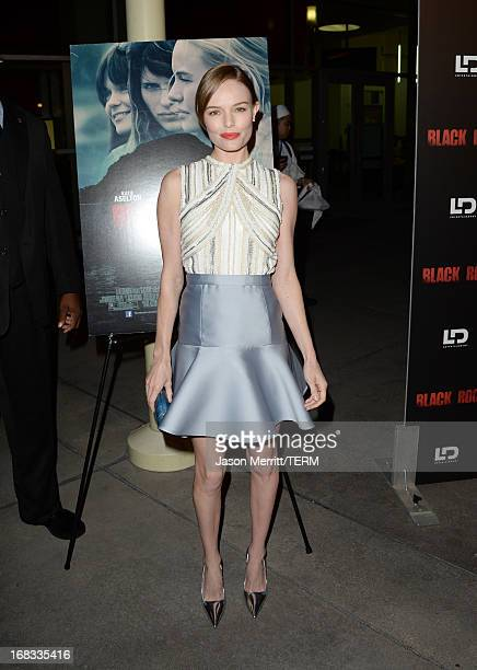 Actress Kate Bosworth attends the screening of LD Entertainment's Black Rock at ArcLight Hollywood on May 8 2013 in Hollywood California