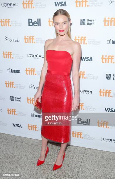 """Actress Kate Bosworth attends the """"Still Alice"""" Premiere at the Winter Garden Theatre during the 2014 Toronto International Film Festival on..."""