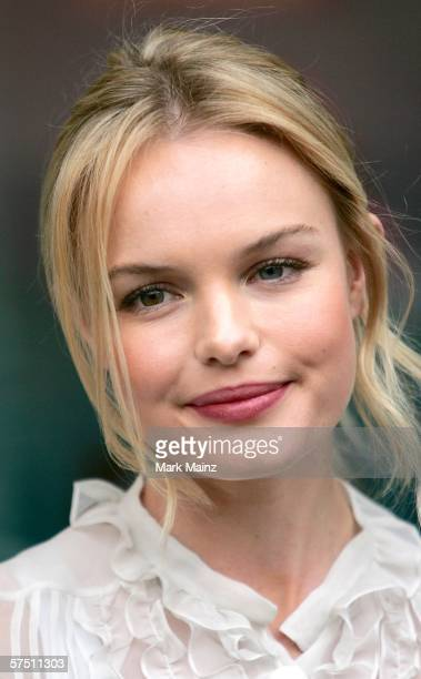 Actress Kate Bosworth attends the Superman Returns apparel launch at Kitson on May 1 2006 in Beverly Hills California