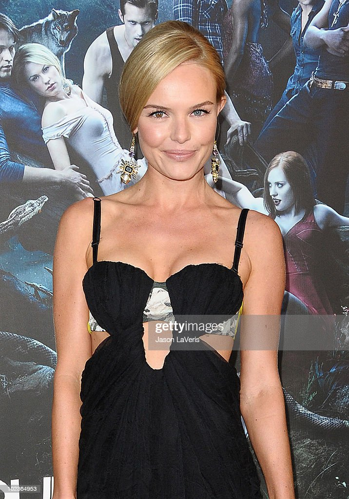 Actress Kate Bosworth attends the third season premiere of HBO's 'True Blood' at ArcLight Cinemas Cinerama Dome on June 8, 2010 in Hollywood, California.