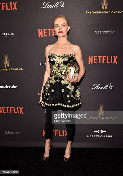 Actress Kate Bosworth attends The Weinstein Company and Netflix Golden Globe Party presented with DeLeon Tequila Laura Mercier Lindt Chocolate Marie...