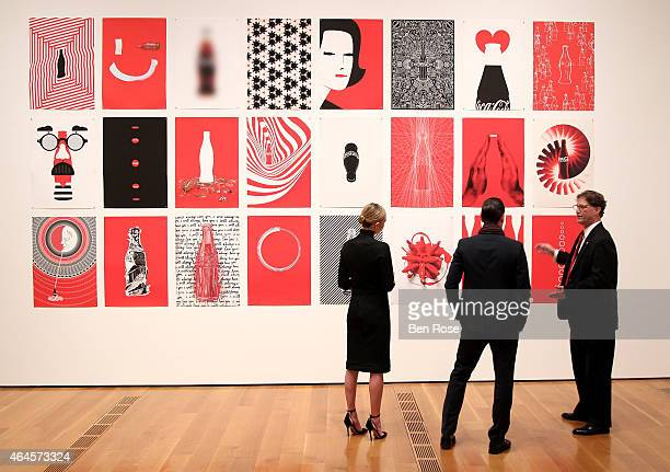 Actress Kate Bosworth filmmaker Michael Polish and Director Heritage Communications at The CocaCola Company Ted Ryan attend The CocaCola Bottle An...