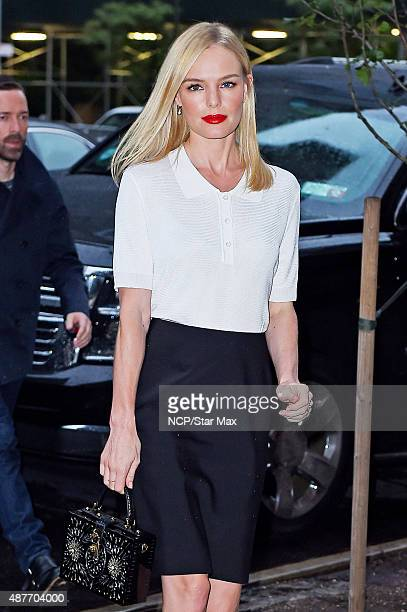 Actress Kate Bosworth is seen on September 10, 2015 in New York City.
