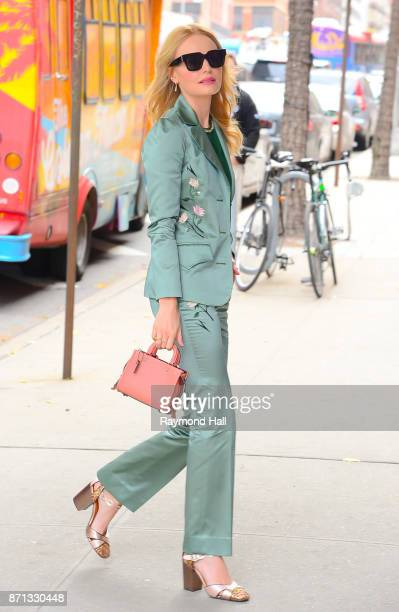 Actress Kate Bosworth is seen outside CBS Show on November 7 2017 in New York City