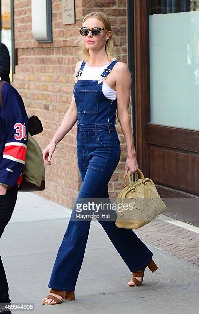 Actress Kate Bosworth is seen walking in Soho on April 16 2015 in New York City