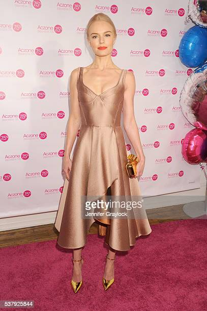 Actress Kate Bosworth partners with Allergan to Celebrate the launch of ACZONE Gel 75% in New York City on June 3 2016 in New York City
