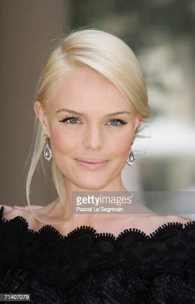 Actress Kate Bosworth poses during a photo call for the Bryan Singer's film Superman Returns at the Bristol hotel on July 10 2006 in Paris France