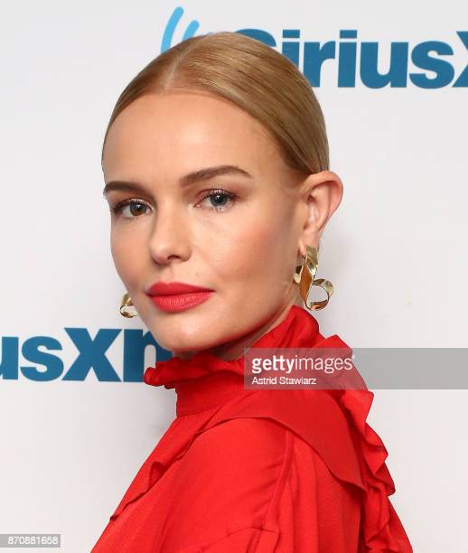 Actress Kate Bosworth visits the SiriusXM studios on November 6 2017 in New York City
