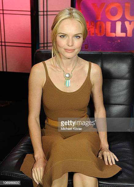 Actress Kate Bosworth visits YoungHollywoodcom at Young Hollywood Studio on November 19 2010 in Los Angeles California