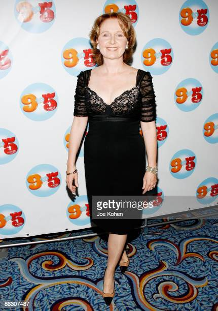 Actress Kate Burton attends the 9 to 5 The Musical Broadway opening night party at the Marriott Marquis on April 30 2009 in New York City