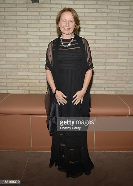 Actress Kate Burton attends the Wallis Annenberg Center for the Performing Arts Inaugural Gala presented by Salvatore Ferragamo at the Wallis...