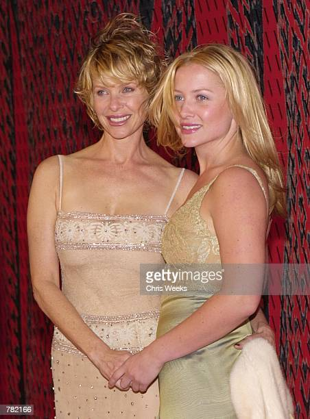 Actress Kate Capshaw and actress daughter Jessica Capshaw arrive at Valentino's 40th Anniversary Los Angeles event November 17, 2000 at the Pacific...