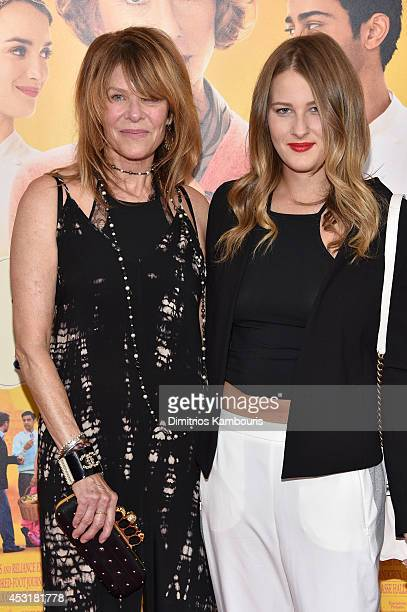 "Actress Kate Capshaw and daughter Destry Spielberg attend the ""The Hundred-Foot Journey"" New York premiere at Ziegfeld Theater on August 4, 2014 in..."