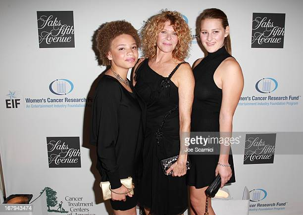"Actress Kate Capshaw and daughters Mikaela George Spielberg and Destry Allyn Spielberg attend EIF Women's Cancer Research Fund's 16th Annual ""An..."