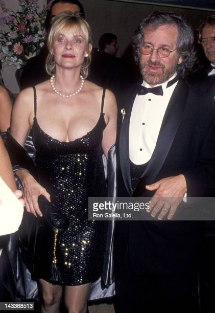 Actress Kate Capshaw and director Steven Spielberg attends the 1994 Carousel of Hope Ball to Benefit the Barbara Davis Center for Childhood Diabetes...