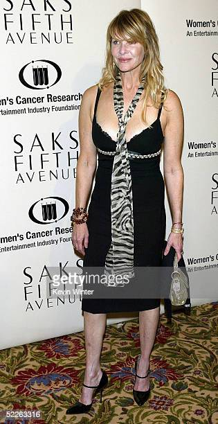 Actress Kate Capshaw arrives at Saks Fifth Avenue's Unforgettable Evening at the Regent Beverly Wilshire on March 1 2005 in Beverly Hills California