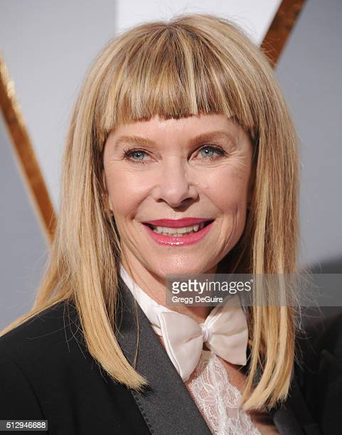 Actress Kate Capshaw arrives at the 88th Annual Academy Awards at Hollywood Highland Center on February 28 2016 in Hollywood California