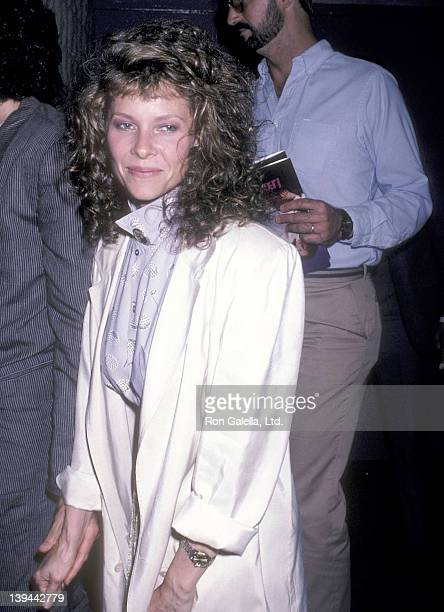 Actress Kate Capshaw attends the Legal Eagles Westwood Premiere on June 12 1986 at the Avco Centre Cinemas in Westwood California