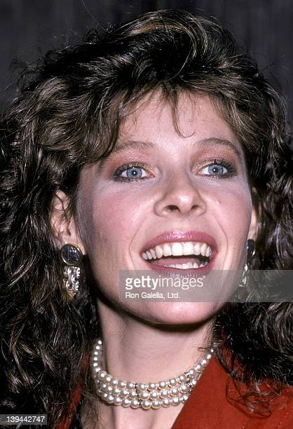 Actress Kate Capshaw attends the Power Premiere Party on January 28 1986 at the Palladium in New York City