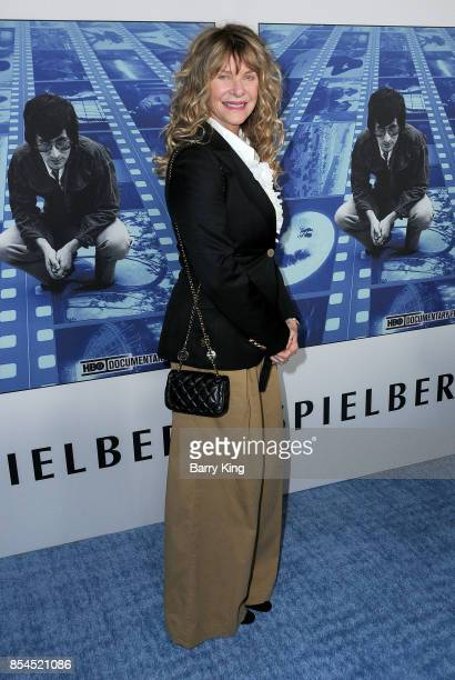 Actress Kate Capshaw attends the premiere of HBO's 'Spielberg' at Paramount Studios on September 26 2017 in Hollywood California