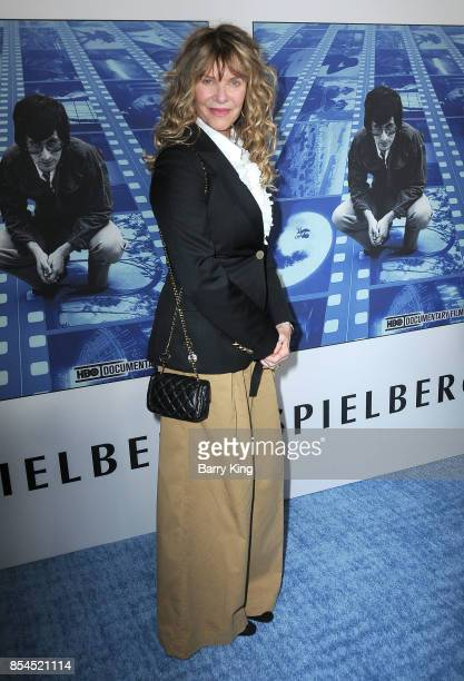 Actress Kate Capshaw attends the premiere of HBO's 'Spielberg' at Paramount Studios on September 26, 2017 in Hollywood, California.