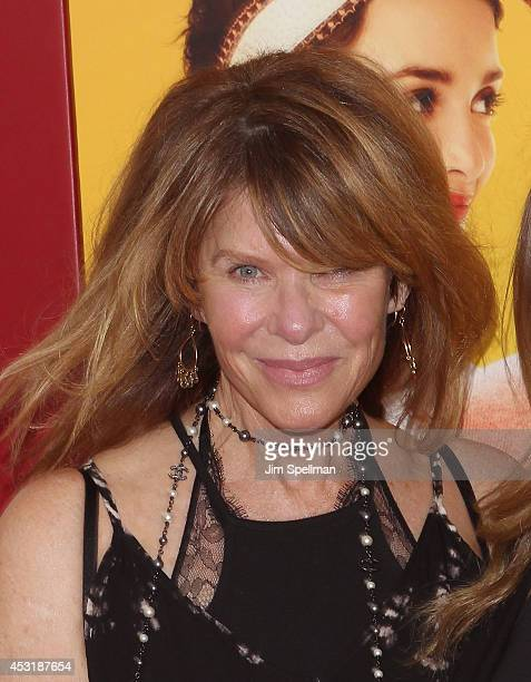 Actress Kate Capshaw attends the The HundredFoot Journey New York Premiere at Ziegfeld Theater on August 4 2014 in New York City