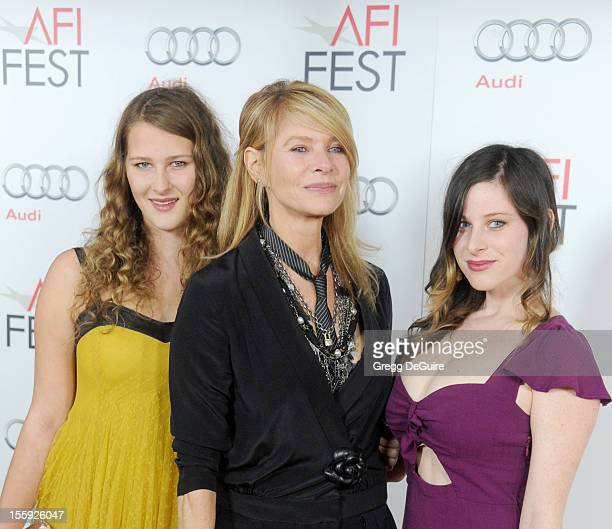 """Actress Kate Capshaw , daughters Destry Allyn Spielberg and Sasha Spielberg arrive at the """"Lincoln"""" premiere during the 2012 AFI FEST at Grauman's..."""