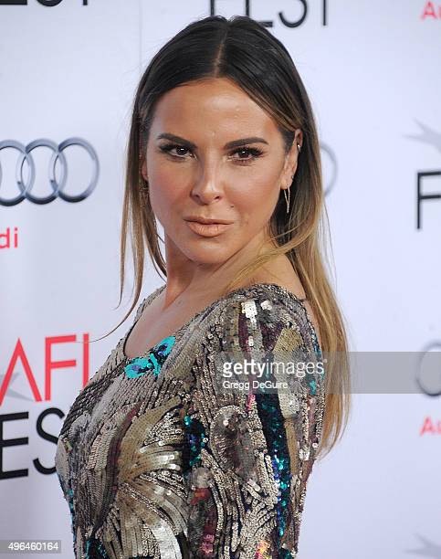 Actress Kate del Castillo arrives at the AFI FEST 2015 Presented By Audi Centerpiece Gala Premiere of The 33 at TCL Chinese Theatre on November 9...