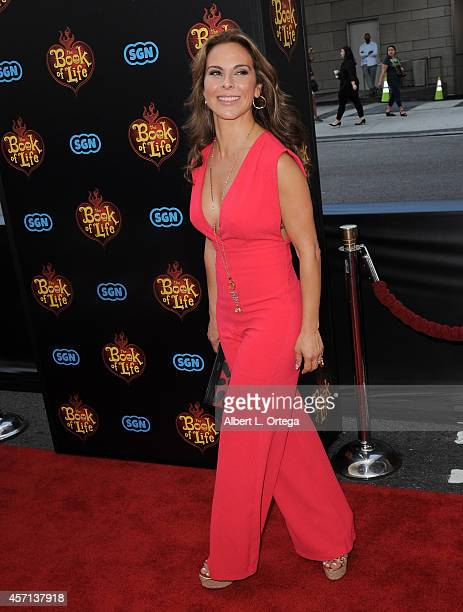 Actress Kate Del Castillo arrives for the Premiere Of Twentieth Century Fox And Reel FX Animation Studios' The Book Of Life held at Regal Cinemas LA...