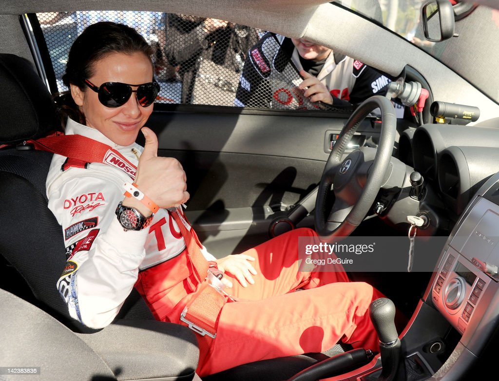 Actress Kate del Castillo at the 36th Annual 2012 Toyota Pro/Celebrity Race - Press Practice Day on April 3, 2012 in Long Beach, California.