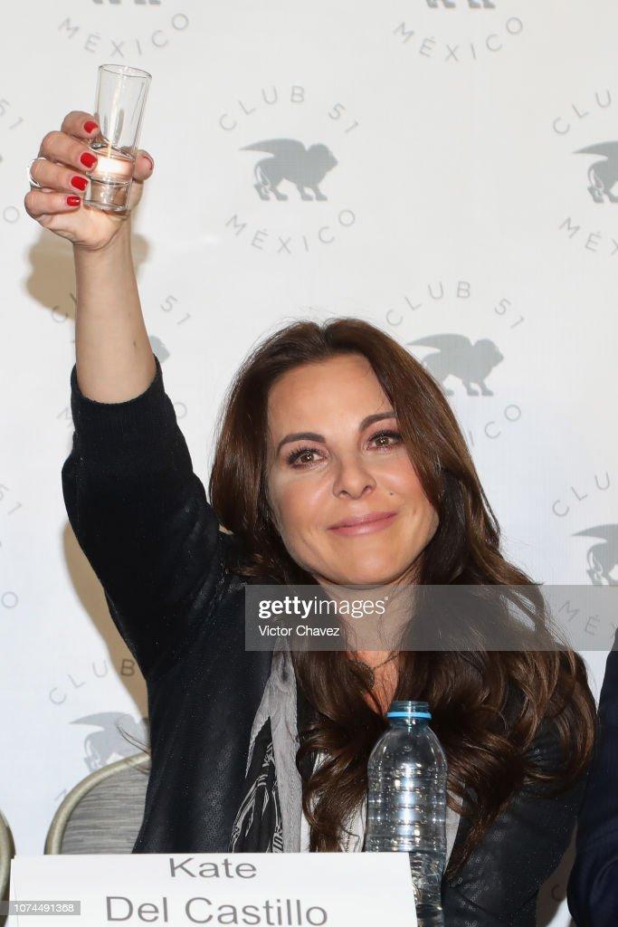 Kate del Castillo Press Conference : News Photo