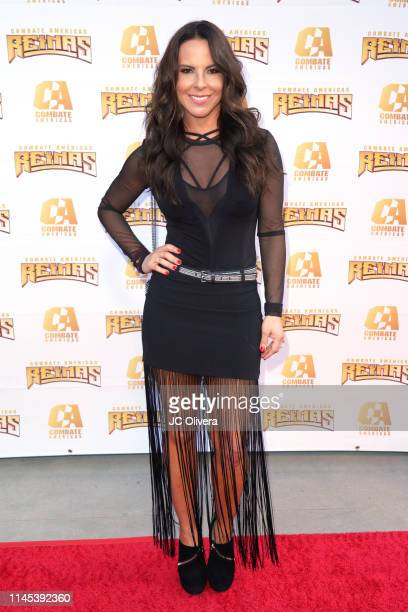 Actress Kate Del Castillo attends Combate Americas Reinas Del Combate Event at Galen Center on April 26 2019 in Los Angeles California