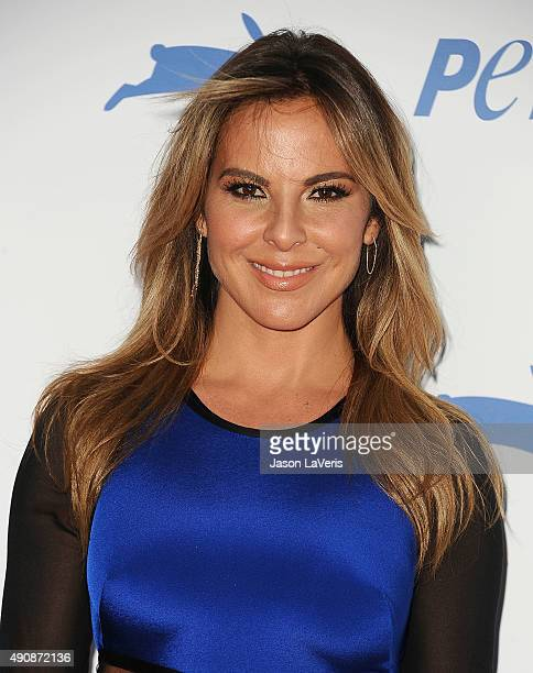 Actress Kate del Castillo attends PETA's 35th anniversary party at Hollywood Palladium on September 30 2015 in Los Angeles California