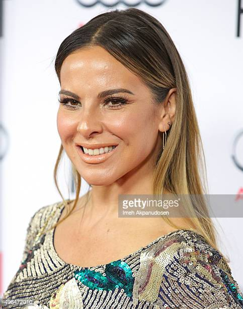 Actress Kate del Castillo attends the Centerpiece Gala premiere of Alcon Entertainment's 'The 33' at TCL Chinese Theatre on November 9 2015 in...