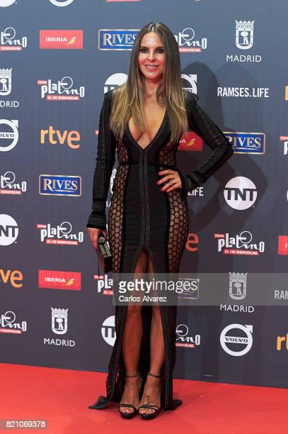 Actress Kate del Castillo attends the Platino Awards 2017 photocall at the La Caja Magica on July 22 2017 in Madrid Spain
