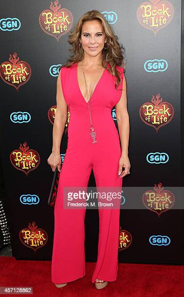 Actress Kate del Castillo attends the Premiere of Twentieth Century Fox and Reel FX Animation Studois' The Book of Life at the Regal Cinemas LA Live...
