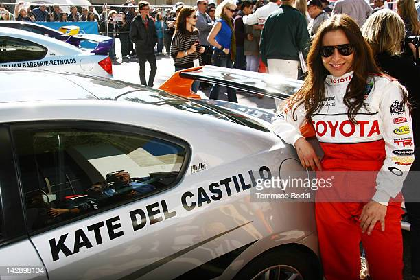Actress Kate del Castillo poses at the 36th Annual 2012 Toyota Pro/Celebrity Race on April 14, 2012 in Long Beach, California.
