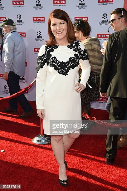 Actress Kate Flannery arrives at TCM Classic Film Festival 2016 Opening Night Gala 40th Anniversary Screening of All The President's Men at TCL...