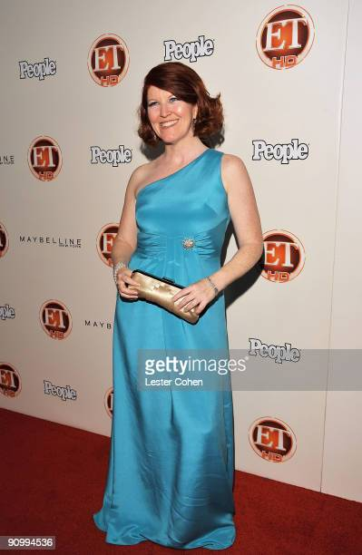 Actress Kate Flannery arrives at the 13th Annual Entertainment Tonight and People Magazine Emmys After Party at the Vibiana on September 20, 2009 in...