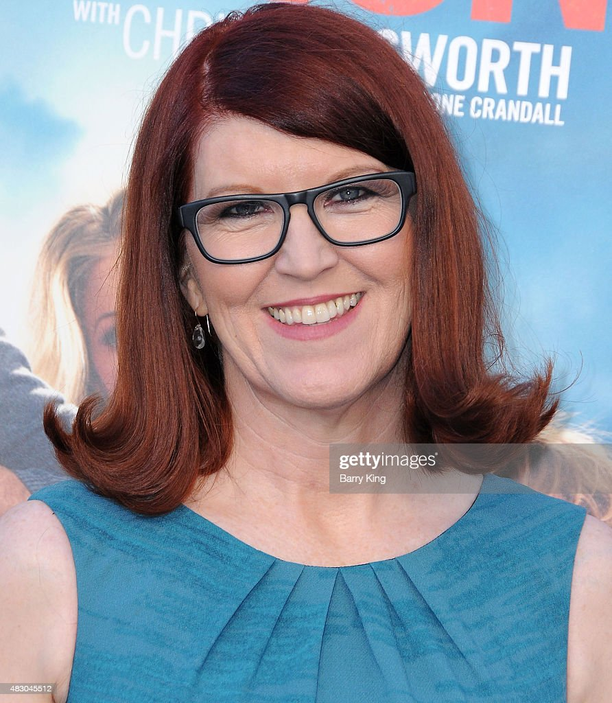 Actress Kate Flannery arrives at the Premiere Of Warner Bros. 'Vacation' at Regency Village Theatre on July 27, 2015 in Westwood, California.